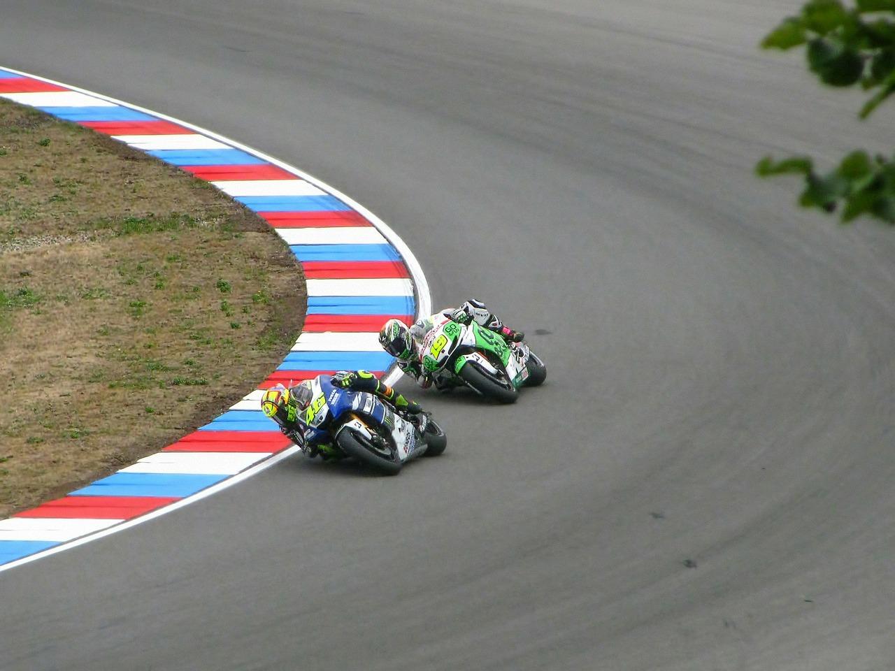 Valentino Rossi and Alvaro Bautista